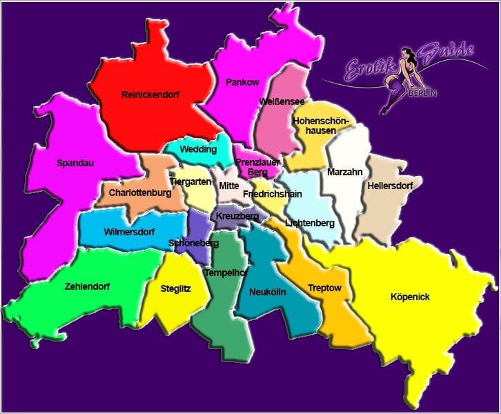 Berliner Bezirke, im City Guide und Portal der Hauptstadt