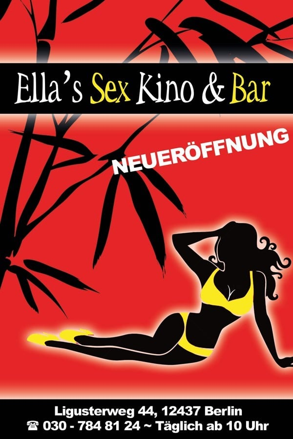 Ellas Sexkino Flyer im Erotikguide Berlin by Correct Conception GmbH