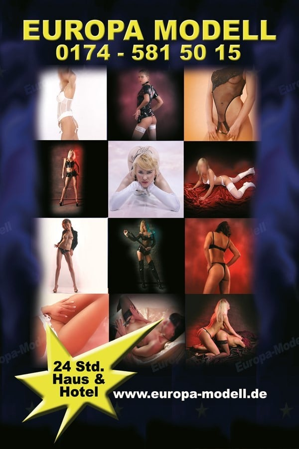 Europa Escort Girls Berlin Flyer im Erotikguide Berlin by Correct Conception GmbH